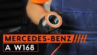 Wiellagerset veranderen MERCEDES-BENZ A-CLASS: werkplaatshandboek