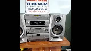 ✅ dàn trung âm thanh Sharp nhật bãi 🔊dàn âm thanh bãi nhật giá rẻ💵giá công khai ( dàn đã bán xong)
