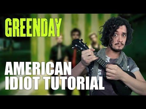 American Idiot Tutorial | Green Day | Ukulele