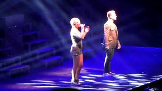 jo and jon from s club 7 hello friend live in newcastle may 9th 2015