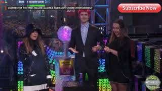 NINJA LIVE AT TIMES SQUARE OMG CRINGE ( FORTNITE DANCE OFF )NEW YEAR 2018 - 2019
