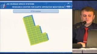 А.А. Пешкун. Эксперимент по построению стереопар с использованием данных КА «Канопус-В»