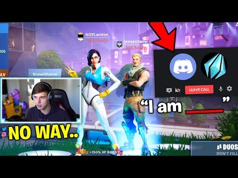 JENSENSNOW Reveals His REAL IDENTITY.. but theres a huge problem.. (Fortnite)
