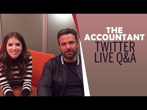 Ben Affleck & Anna Kendrick fling jokes during Live Q&A | The Accountant