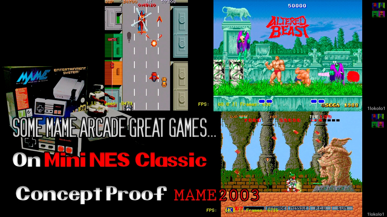 how to play mame on snes classic