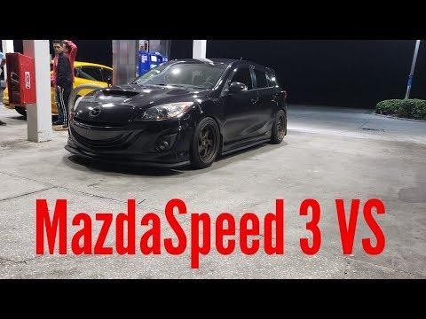 Mazdaspeed 3 VS Focus ST VS Subaru WRX!