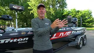 Triton Boats 22 TrX with Stephen Browning