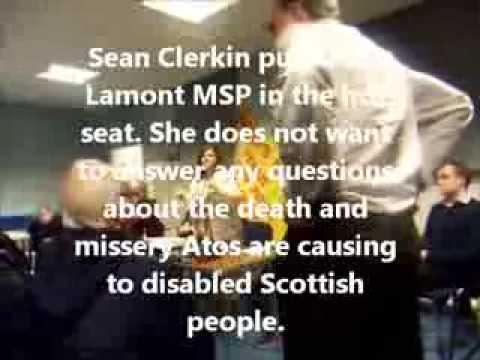 Johann Lamont MSP vs Sean Clerkin