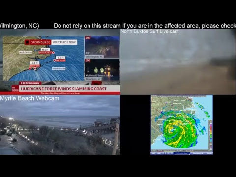 NOT Live: Tracking Hurricane Florence - Local Now Wilmington NC Special Weather Channel Live Stream
