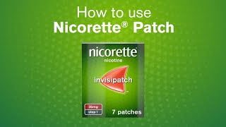 NICORETTE®: How To Use Nicorette® InvisiPatch