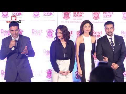 Bestdealtv Launch   Akshay Kumar  Sonakshi Sinha  Shilpa Shetty  Raj Kundra