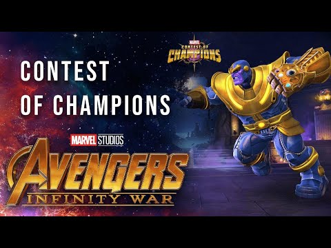Marvel Contest of Champions Gives Fans Even More Avengers: Infinity War Action