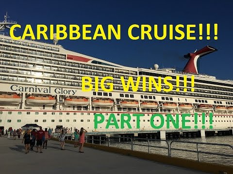 **BIG WINS!!!/GRAND CAYMAN** - Carnival Glory Part 1 of 4