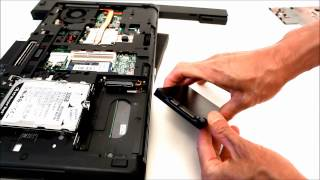 upgrade hard drive of a hp probook 6465b 6475b 6560b with a ssd replace 642774 001