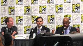 Congressman John Lewis speaks at Comic-Con 2013