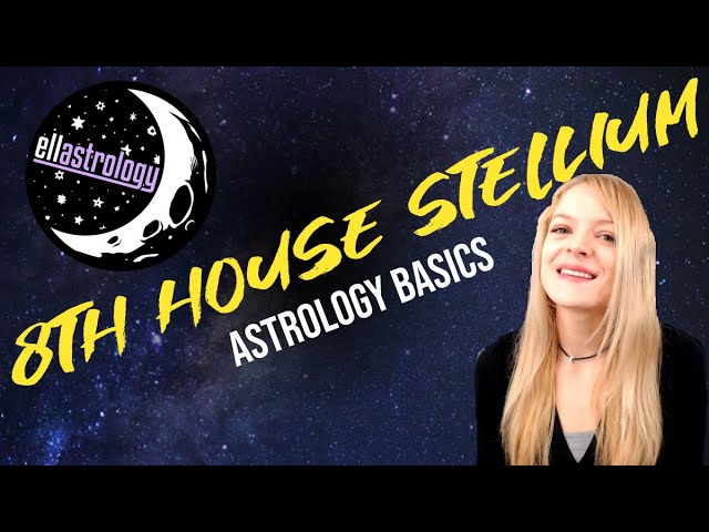 Stellium/ 3 or more planets in the 8th House