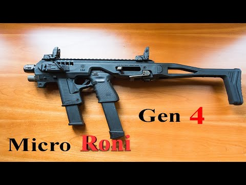 Micro Roni Gen 4 For Glock 17,19 9mm