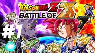 PS Vita - Dragon Ball Z: Battle of Z Gameplay Playthrough Part 1
