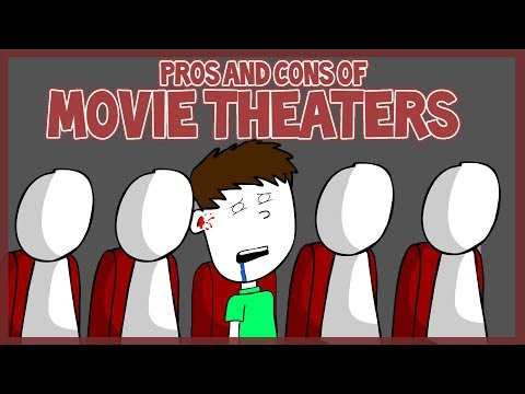 Pros and Cons of Movie Theaters (ft. BlackSen)