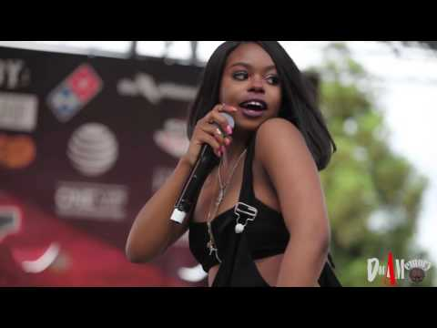Dreezy Performs Body Live