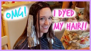 OMG I DYED MY HAIR!!!! Thumbnail