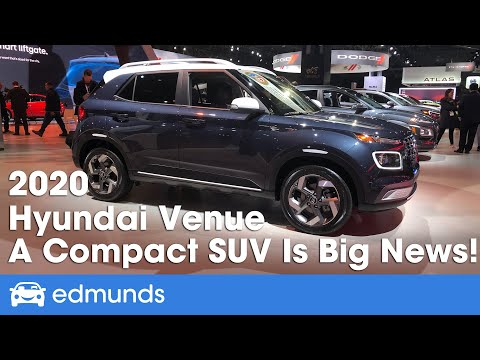 2020 Hyundai Venue First Look Debut Youtube