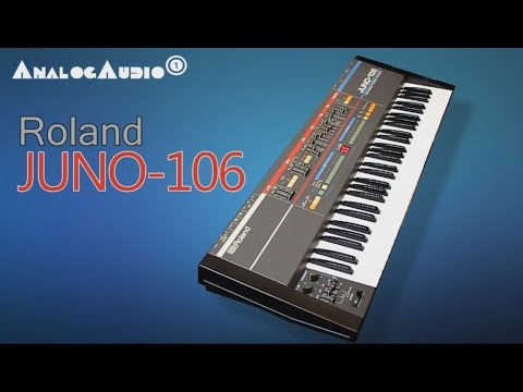 ROLAND JUNO-106 Analog Synthesizer 1984 | HD DEMO | NEW PATCHES