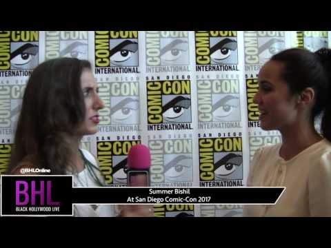 Summer Bishil The Magicians at San Diego ComicCon 2017