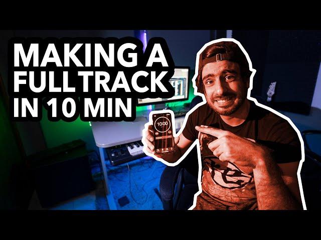 Making an EDM Track in 10 Minutes Challenge! | VLOG