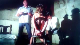 Woman being tortured