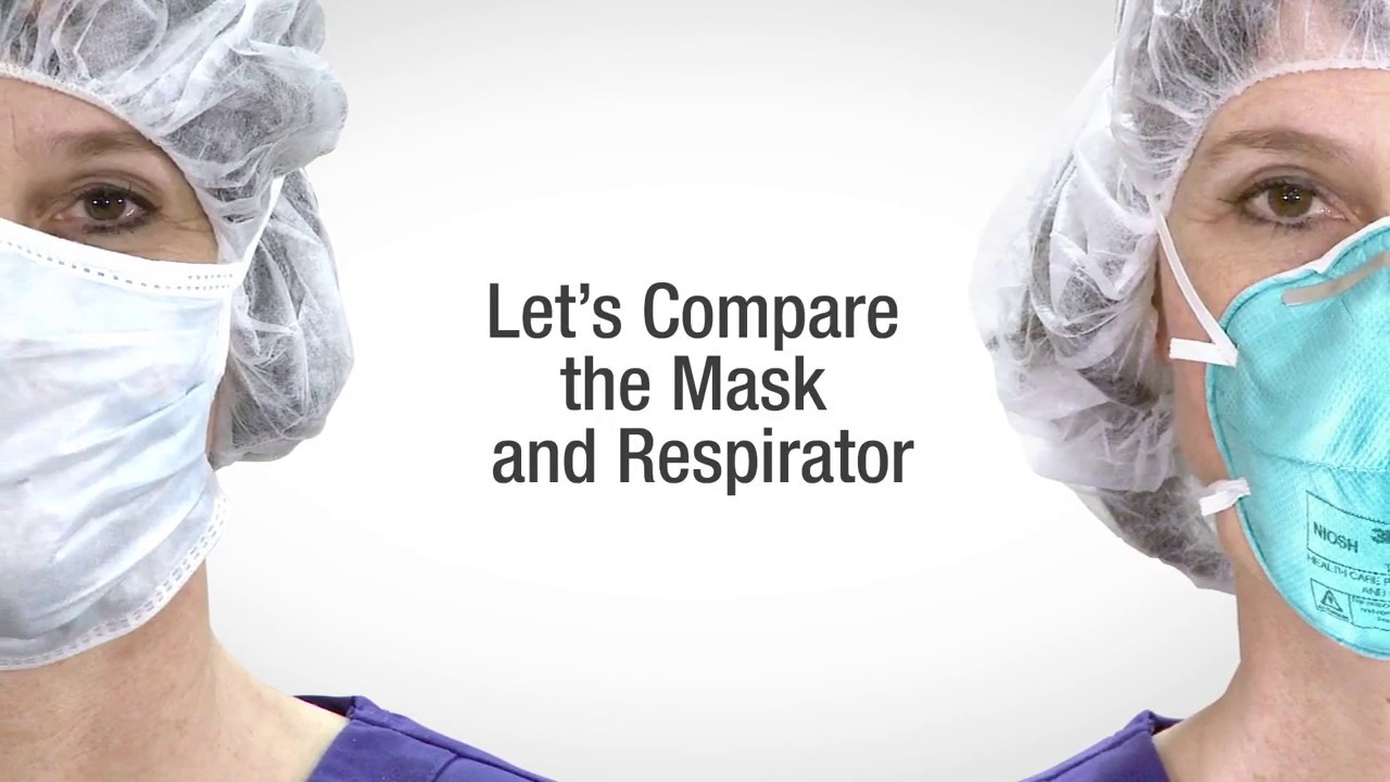 Face Mask vs Respirator Comparison by 3M - YouTube