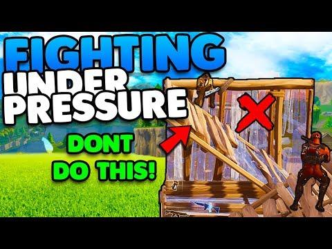 Fighting Under Pressure & Win More Games! | Smart Building Tips & Tricks | Fortnite Battle Royale
