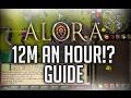 ALORA RSPS - GUIDE - BEST MONEY MAKING METHOD EPISODE 1