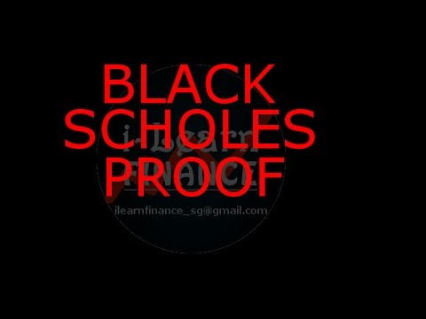 proof of black scholes 2018-6-22  risk neutral pricing black-scholes formula lecture 19 dr vasily strela (morgan stanley and mit.