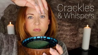 Back to Sleep 🕯 Crackle Candle 🕯Sponge, Whispered [ASMR]