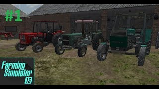 Farming Simulator 2013 - życje Rolnika (Bockowo 1995 preżętacja maszyn ) #1