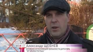 В Дзержинском районе джип протаранил столб: встали все троллейбусы(, 2015-12-04T08:47:25.000Z)