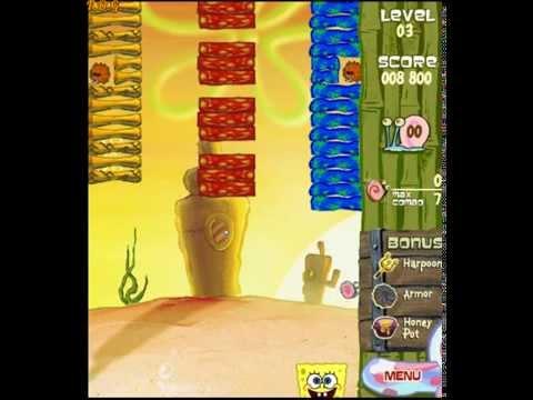 Spongebob Squarepants Deep Sea Smashout (Спанч Боб Лагуна Бикини) - прохождение игры