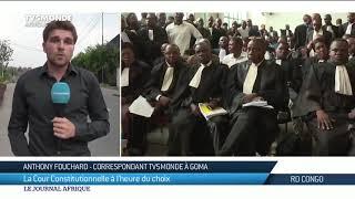 RDC: la Cour constitutionnelle étudie les recours déposés par Martin Fayulu et Theodore Ngoy