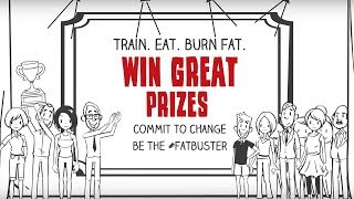 #fatbusters - healthy lifestyle game