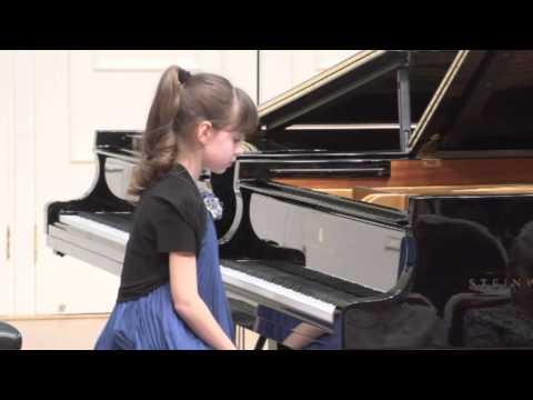 13.03.2014 Concert of professor Mira Marchenko class students. 1-st Part