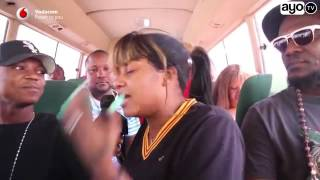 Shilole hajui kingereza atoa boko kwenye basi wakienda fiesta