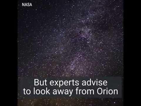 Bu gece Orionid meteor yağmuru var 20.10.2017