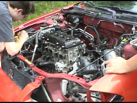 2002 Nissan Sentra Se R Spec V Engine Swap Youtube