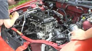 2002 Nissan Sentra SE-R Spec V Engine Swap
