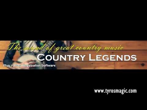 Tyros Magic - Country Legends -Tyros Registration Software Demo