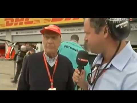 F1 2016 Austrian GP Niki Lauda Post-Race Interview
