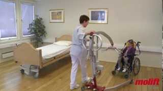 Molift Smart Travel Hoist - Paediatric Sling Video