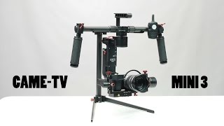 CAME-TV Mini 3 Camera Gimbal Review