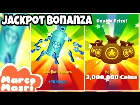 💰💰💰 WINNING 3,000,000 Coins And 10 Keys In TERRIFIC TUESDAY | Subway Surfers